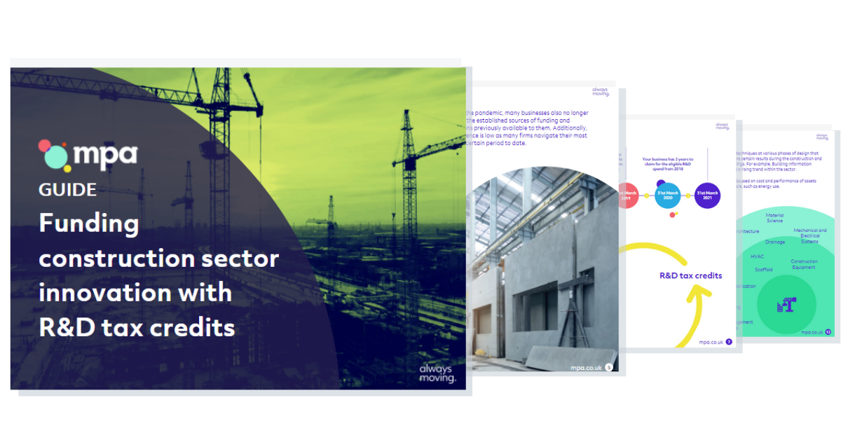 GUIDE_ Construction Sector landing page